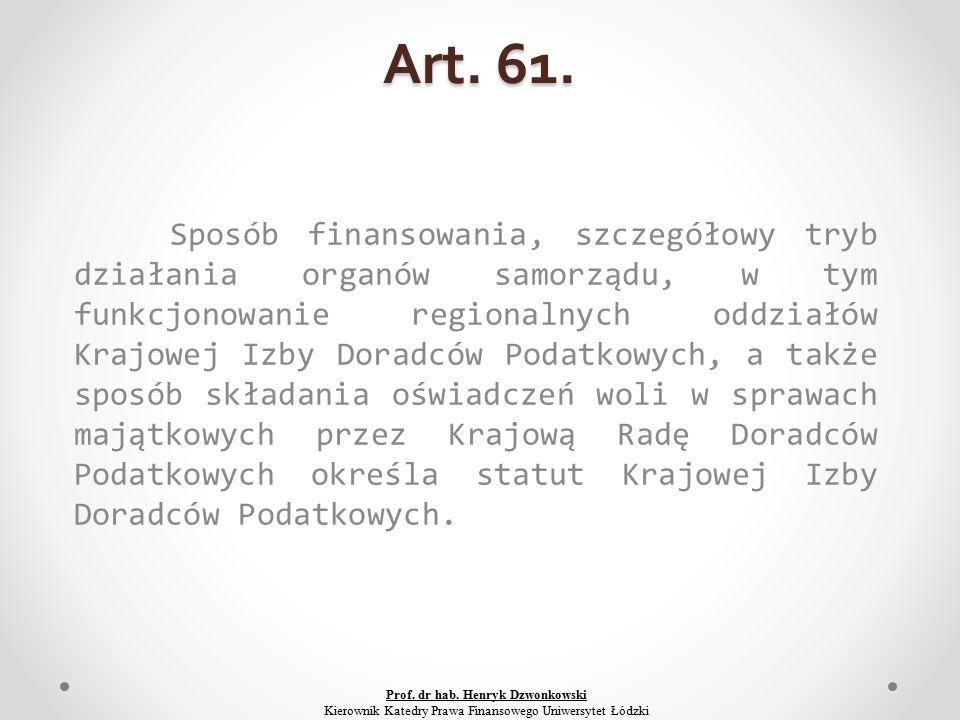 Art. 61.