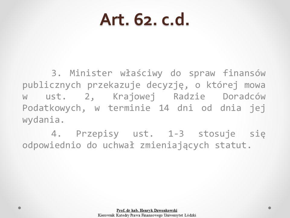 Art. 62. c.d. 3.