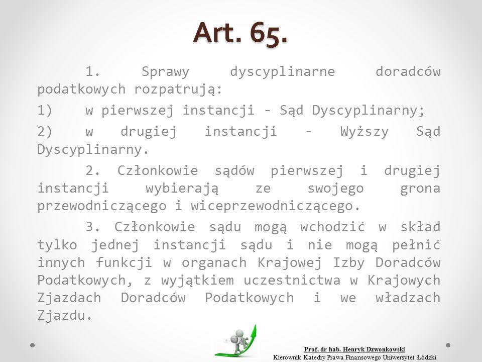 Art. 65. 1.