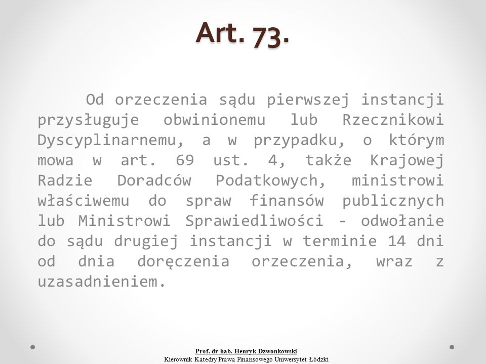 Art. 73.