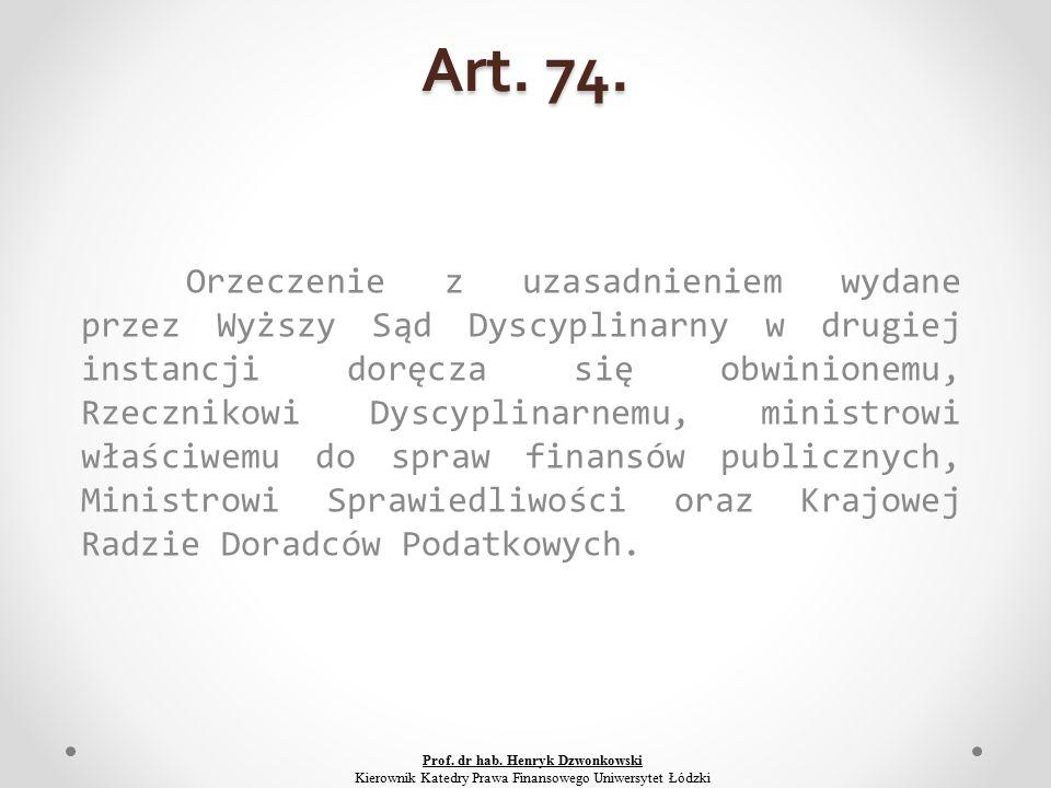 Art. 74.