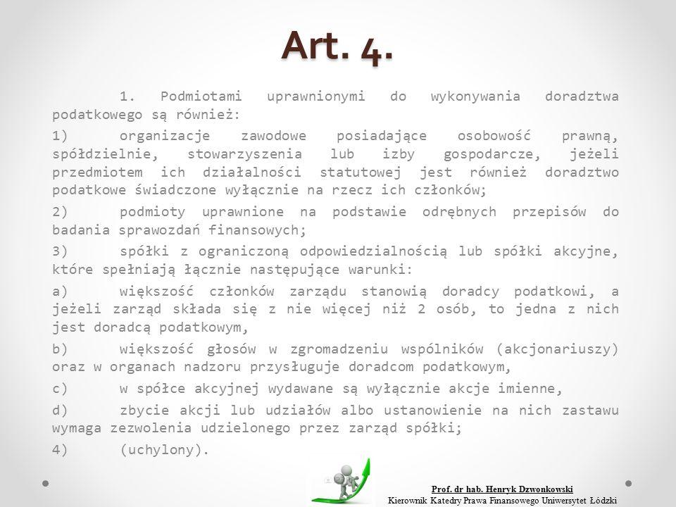 Art. 4. 1.