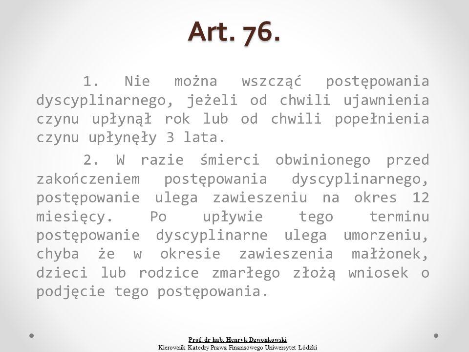Art. 76. 1.