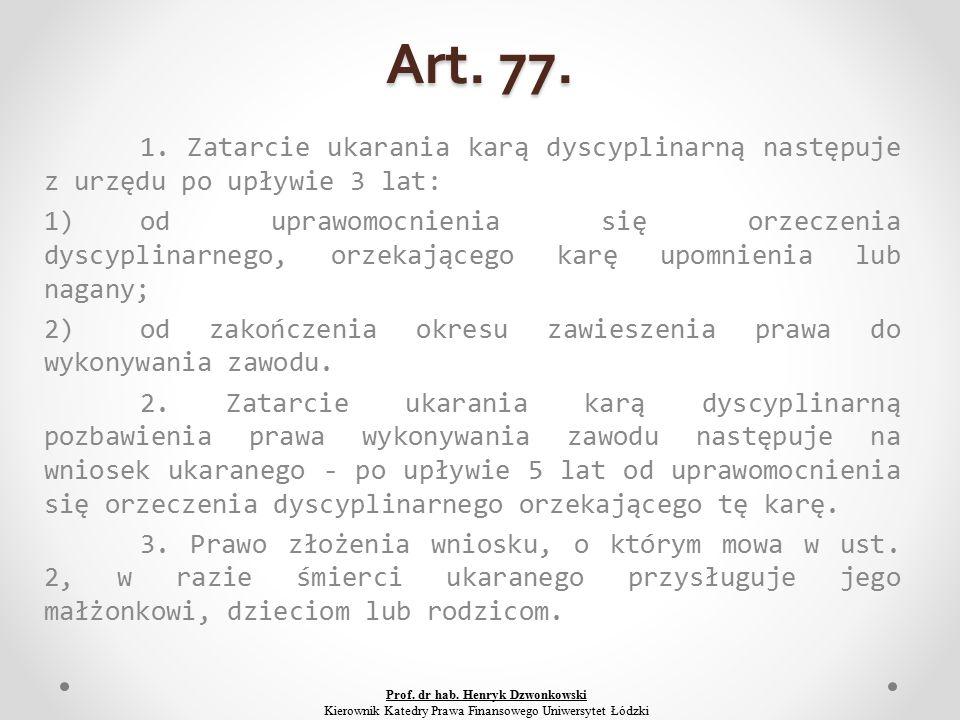 Art. 77. 1.