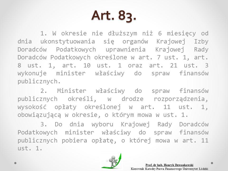 Art. 83. 1.