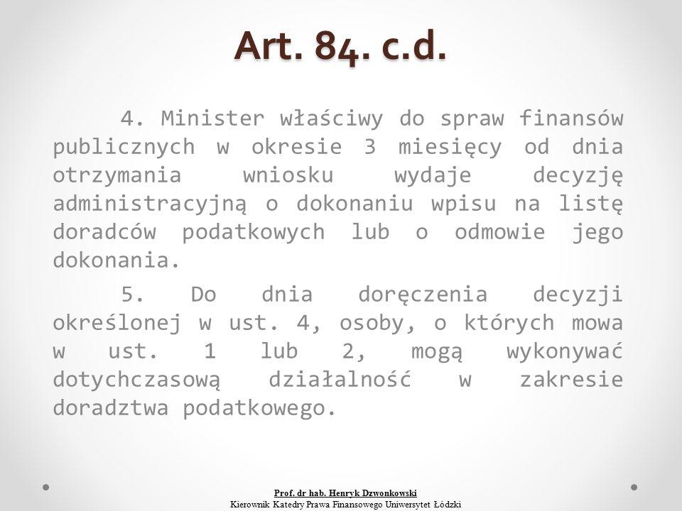 Art. 84. c.d. 4.