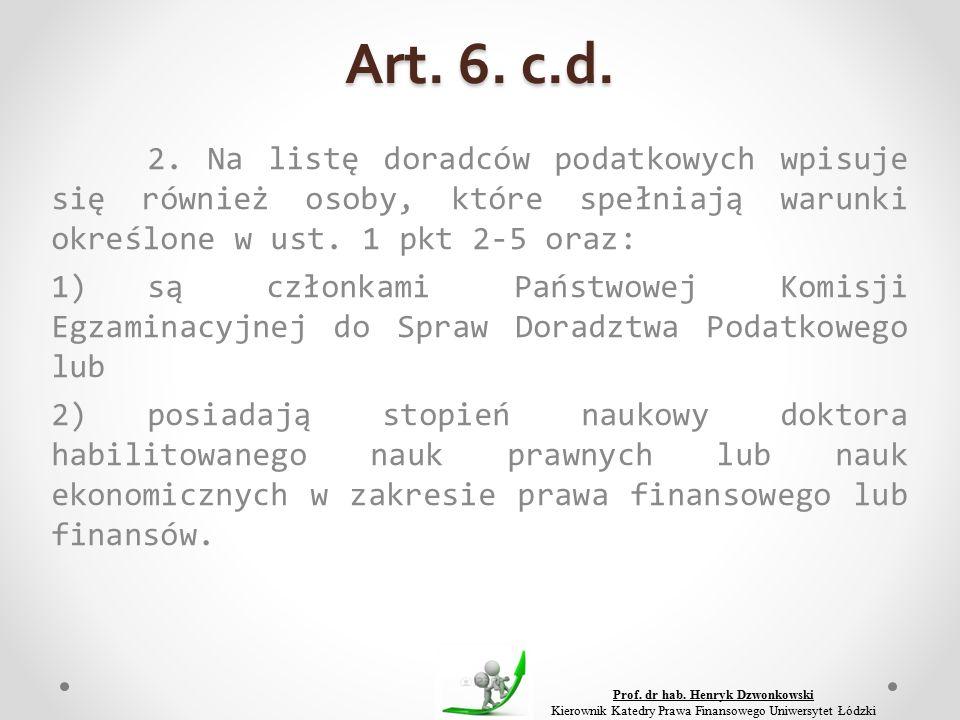 Art. 6. c.d. 2.