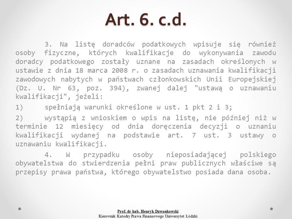 Art. 6. c.d. 3.