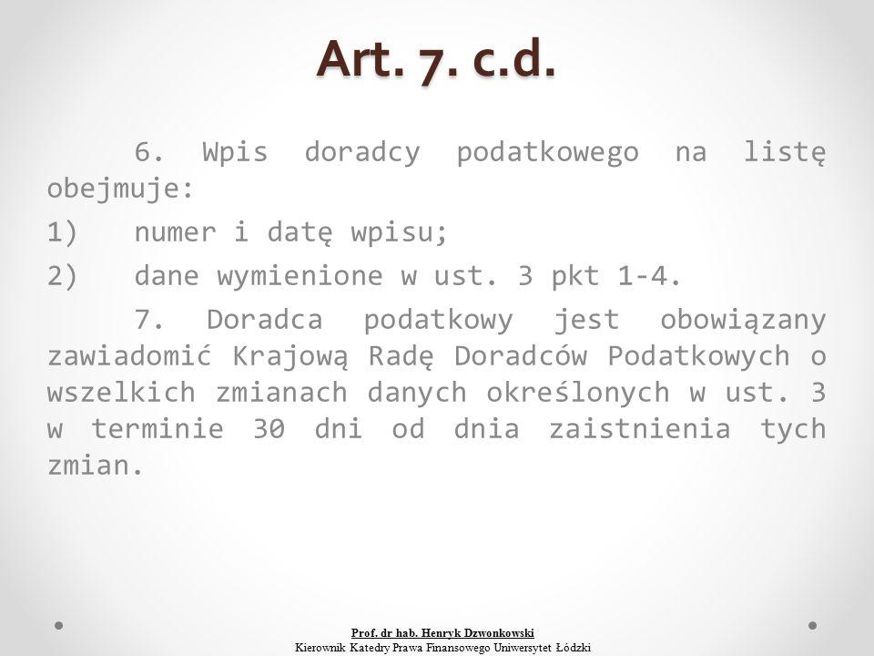 Art. 7. c.d. 6.