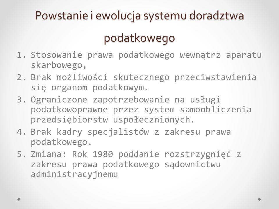 Rozdział 6 Obowiązki i prawa doradcy podatkowego Prof.