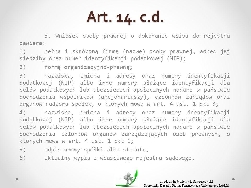 Art. 14. c.d. 3.