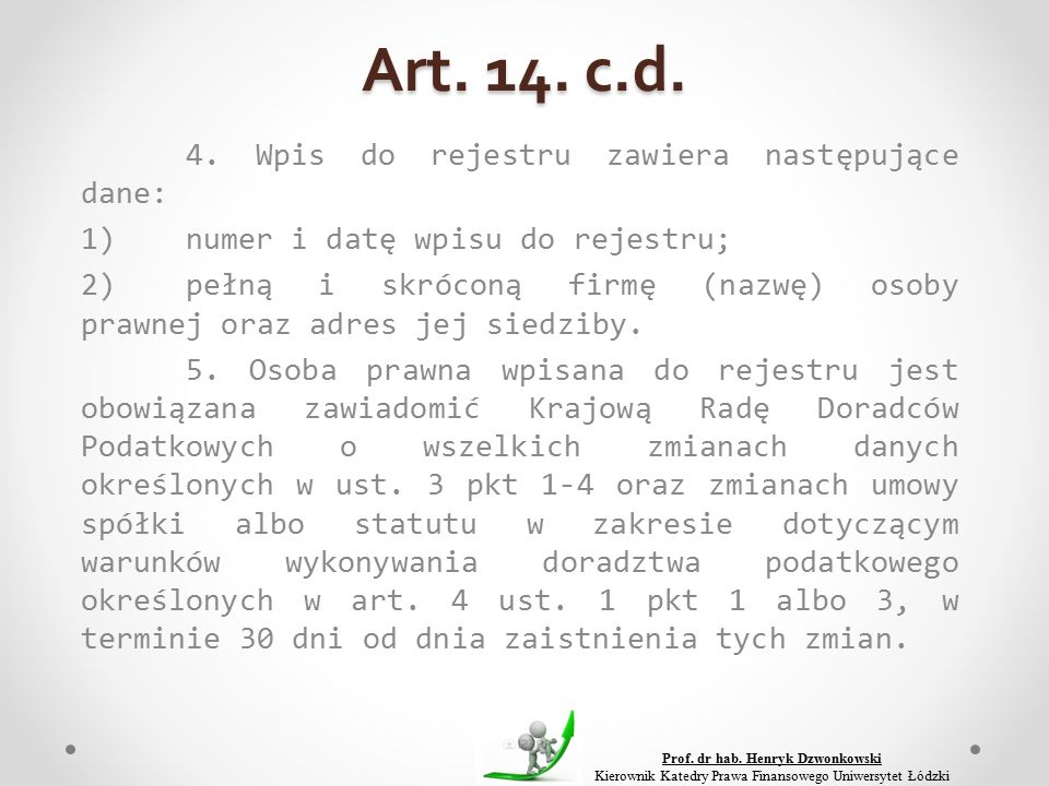 Art. 14. c.d. 4.