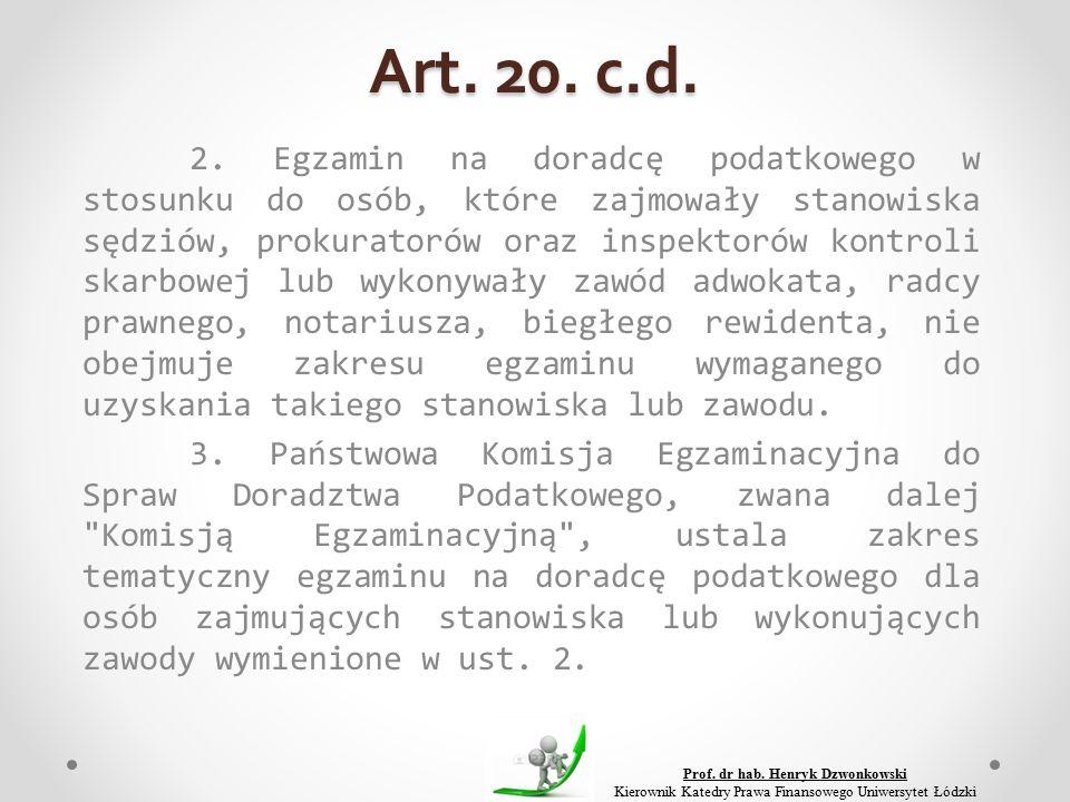 Art. 20. c.d. 2.