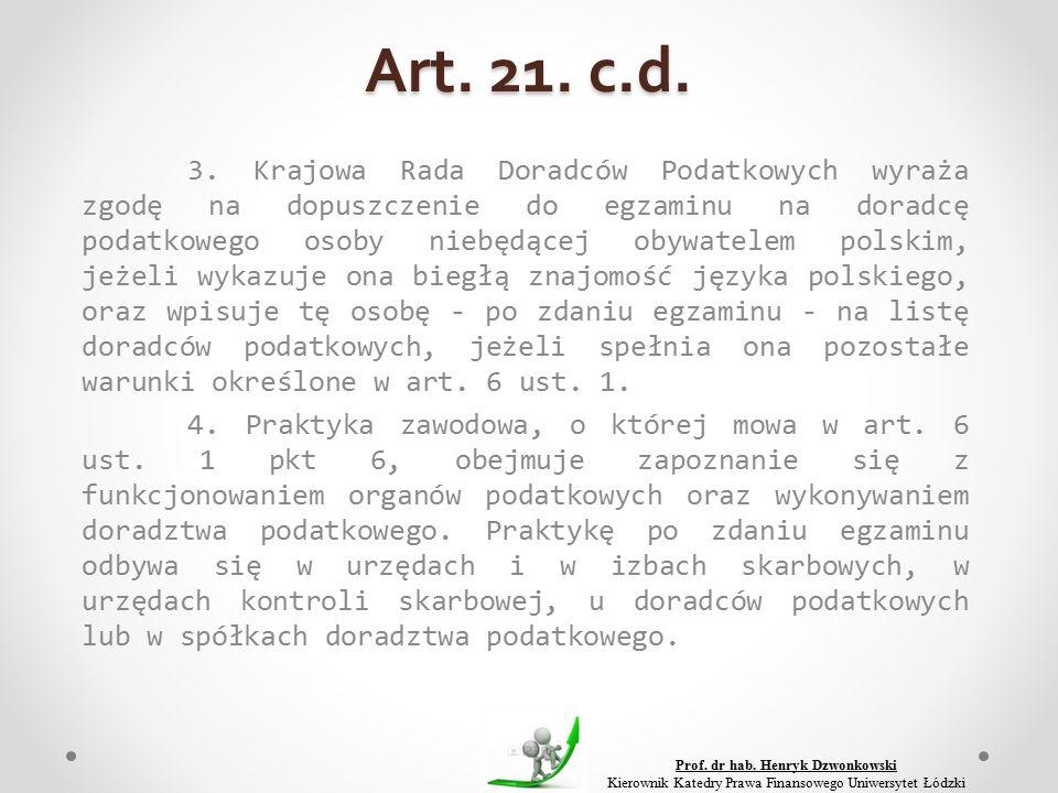 Art. 21. c.d. 3.