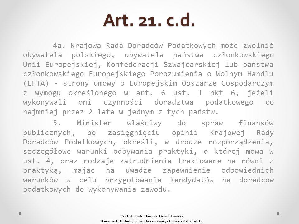 Art. 21. c.d. 4a.
