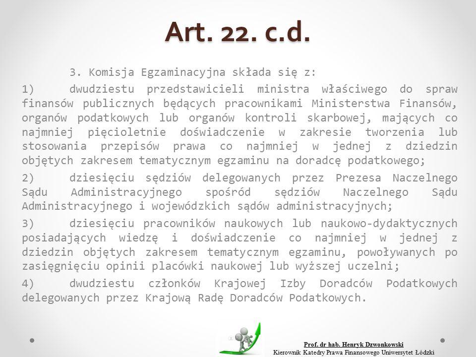 Art. 22. c.d. 3.