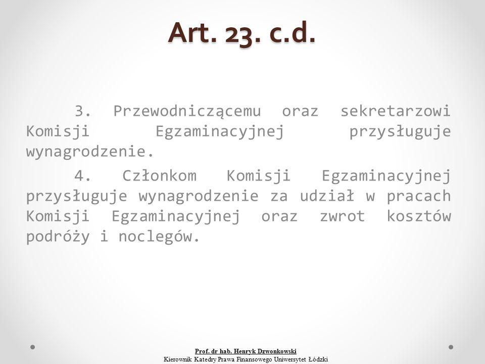 Art. 23. c.d. 3.