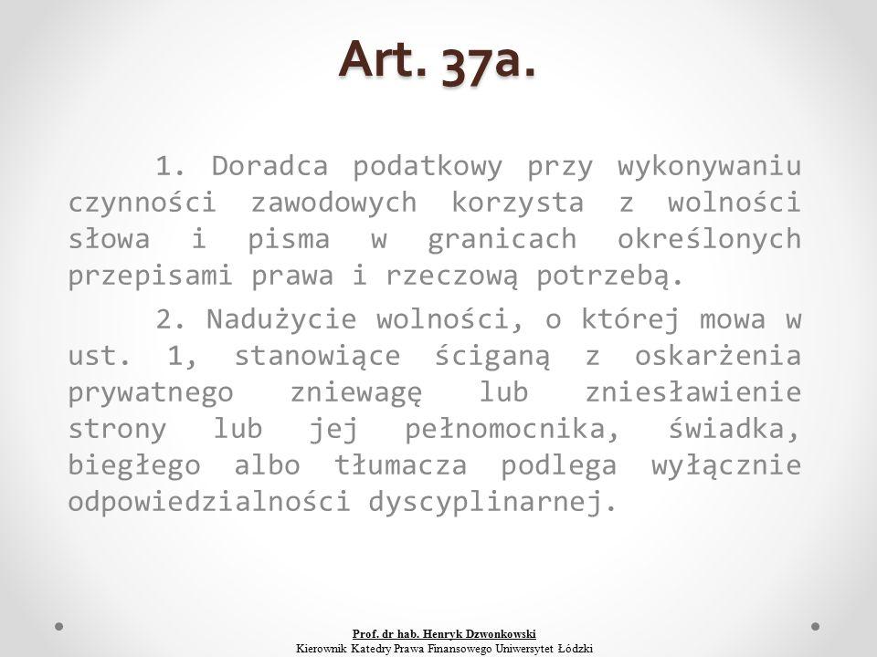 Art. 37a. 1.