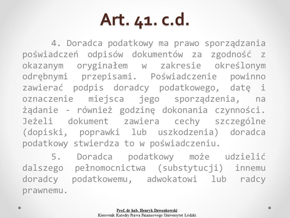 Art. 41. c.d. 4.