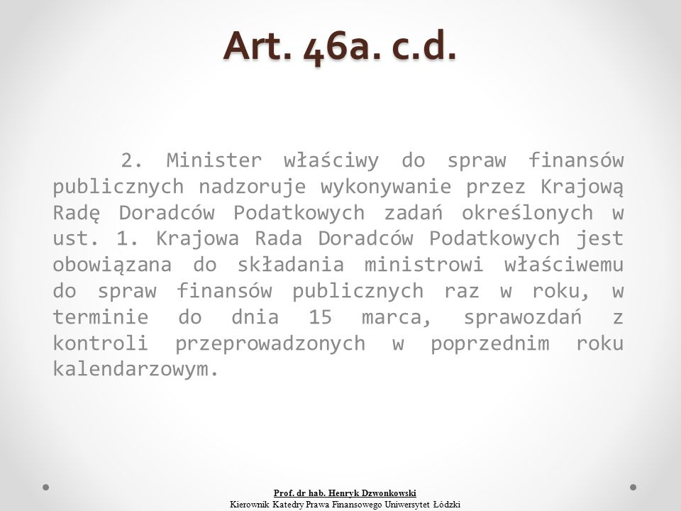 Art. 46a. c.d. 2.