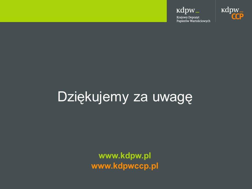 Dziękujemy za uwagę www.kdpw.pl www.kdpwccp.pl