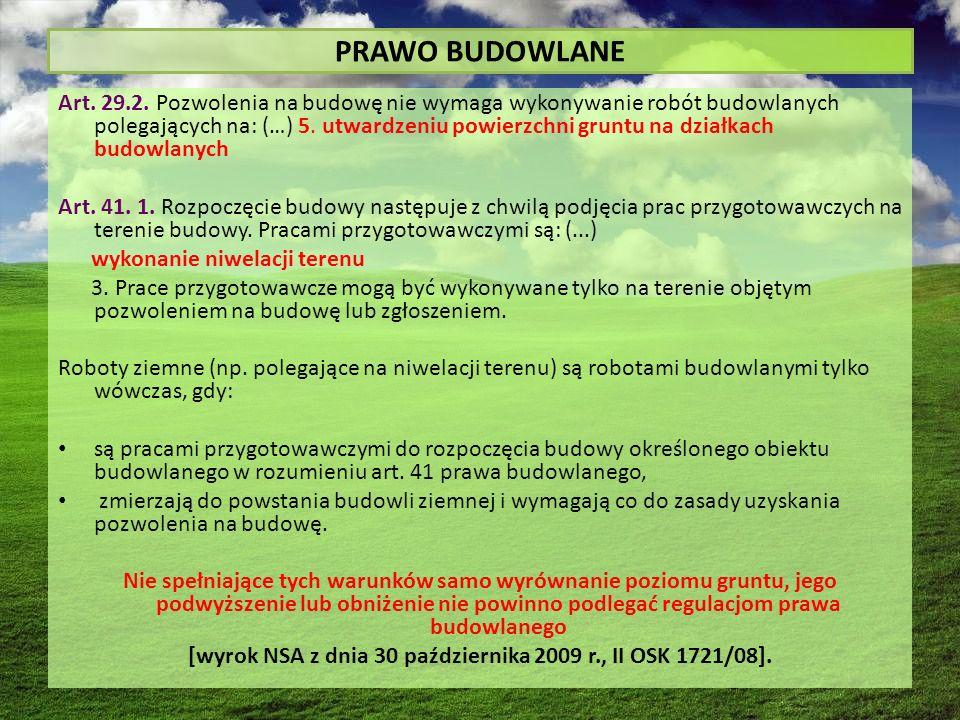 PRAWO BUDOWLANE Art. 29.2.