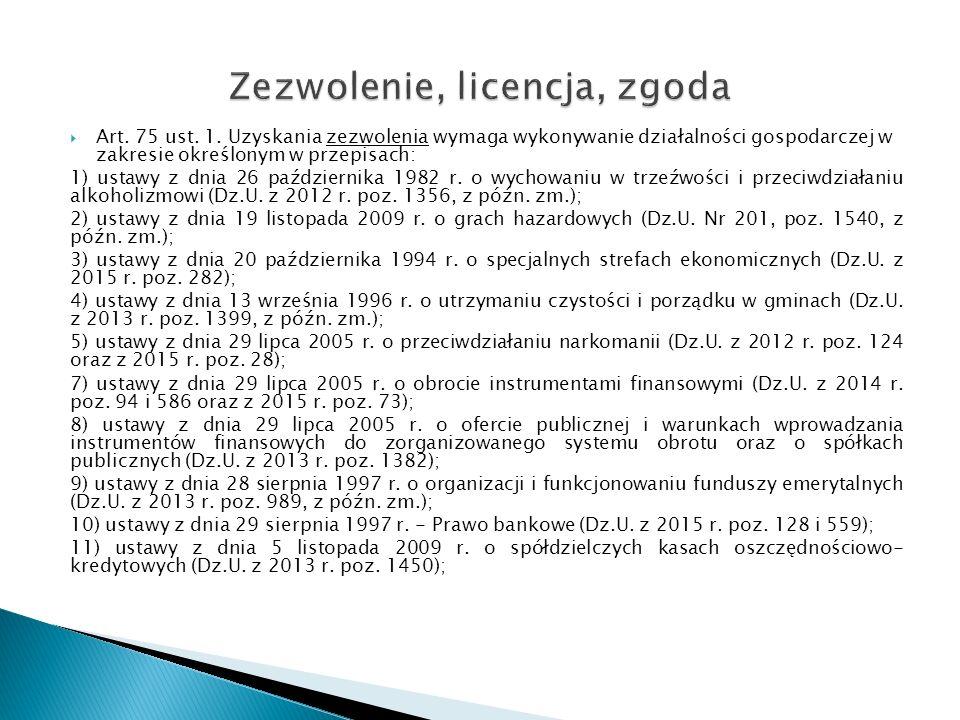  Art.75 ust. 1.