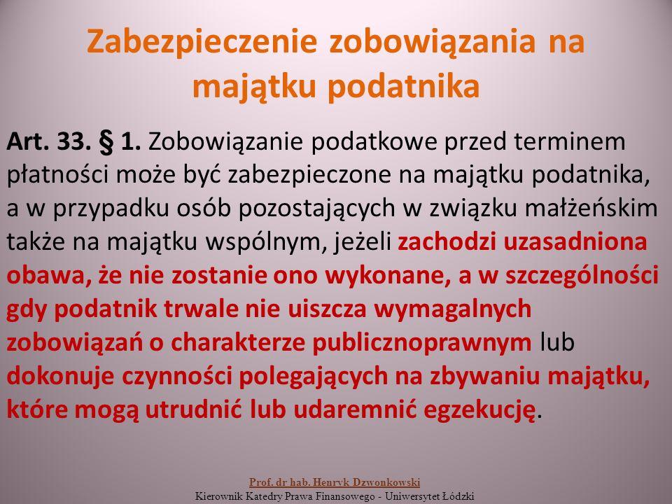 Terminy płatności podatków Art.47. § 1.