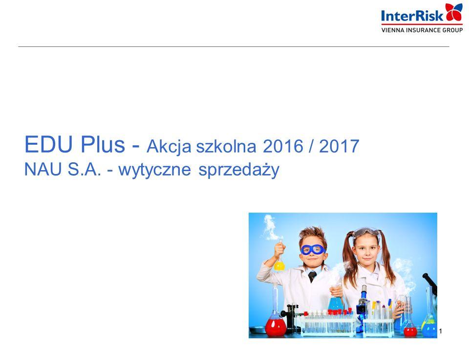 11 EDU Plus - Akcja szkolna 2016 / 2017 NAU S.A. - wytyczne sprzedaży