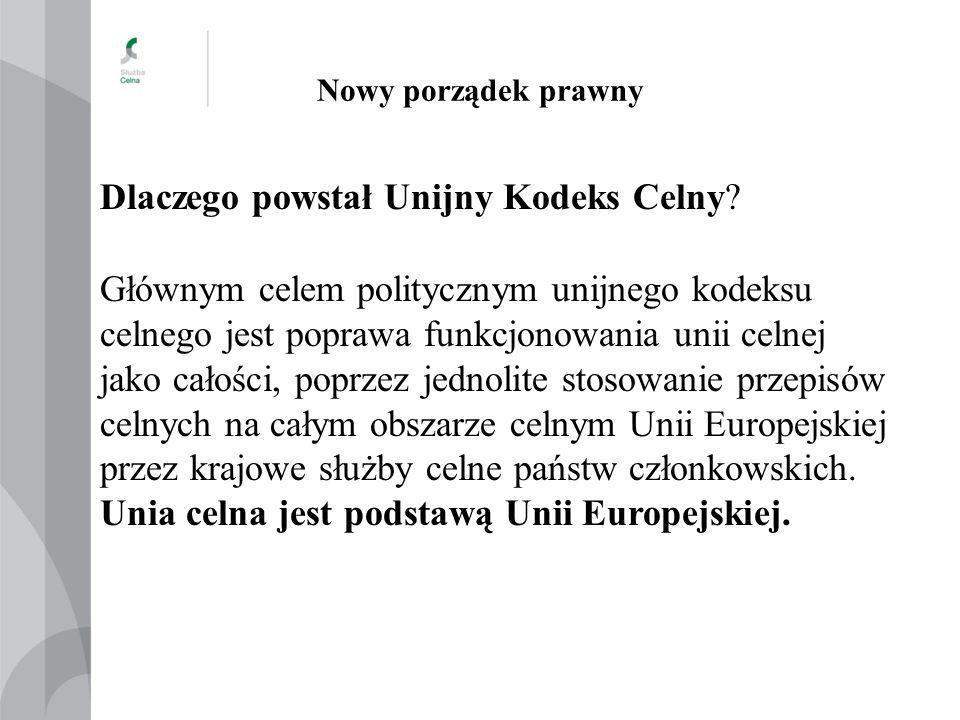 Nowy porządek prawny 2008 r.