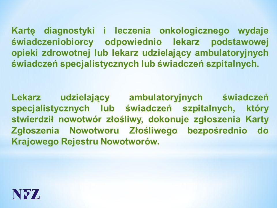 Odpowiedź: Świadczenia należy rozliczyć jako:  świadczenia specjalistyczne, lub  świadczenia specjalistyczne pierwszorazowe (w przypadku pacjentów pierwszorazowych) odpowiedniego typu Zbiór parametrów służących do wyznaczenia ambulatoryjnej grupy świadczeń specjalistycznych określono w załączniku nr 7 do Zarządzenia nr 79/2014/DSOZ Prezesa Narodowego Funduszu Zdrowia z dnia 5 grudnia 2014r.