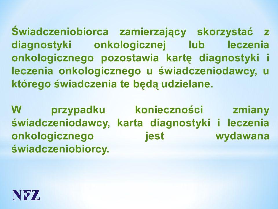 Odpowiedź:  Kartę DILO należy założyć po przeprowadzonej diagnostyce potwierdzającej wystąpienie nowotworu  świadczenie należy rozliczyć świadczeniem specjalistycznym odpowiedniego typu, w zależności od liczby i rodzaju wykonanych procedur medycznych
