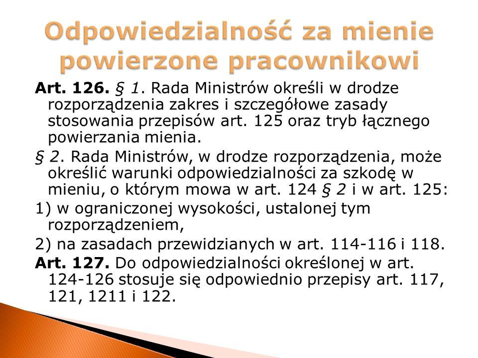 Art. 126. § 1.