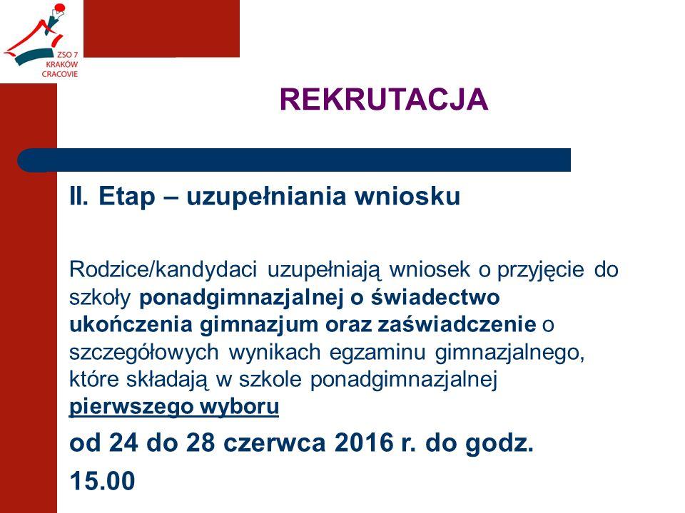 REKRUTACJA II.