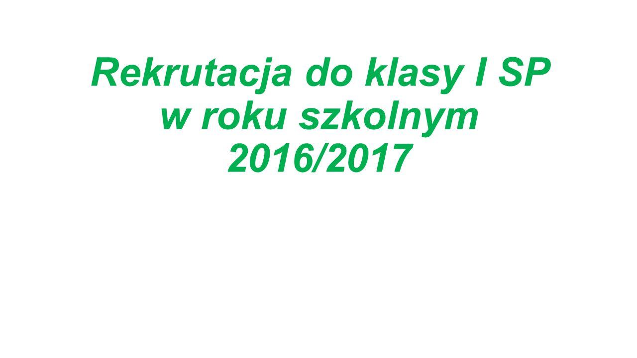 Zmiana w systemie oświaty z dnia 29 grudnia 2015r.