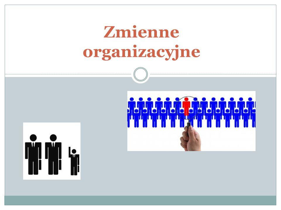 Zmienne organizacyjne