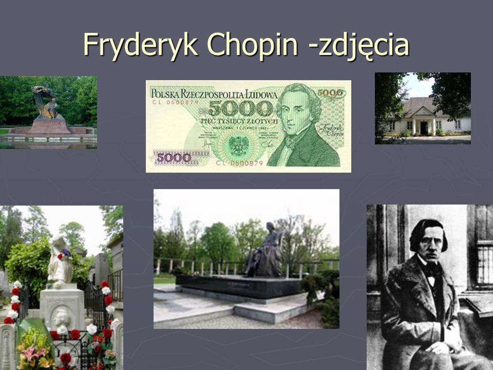 Fryderyk Chopin -zdjęcia