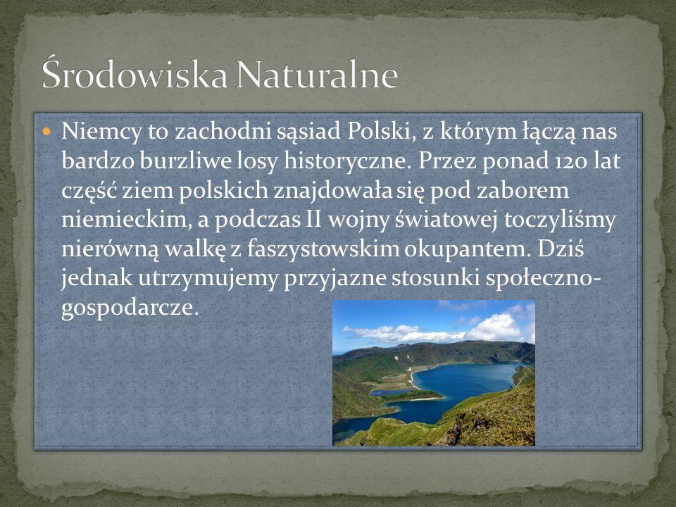 Niemcy to zachodni sąsiad Polski, z którym łączą nas bardzo burzliwe losy historyczne. Przez ponad 120 lat część ziem polskich znajdowała się pod zabo