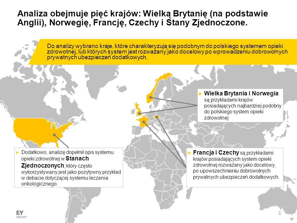 3 Analiza obejmuje pięć krajów: Wielką Brytanię (na podstawie Anglii), Norwegię, Francję, Czechy i Stany Zjednoczone.