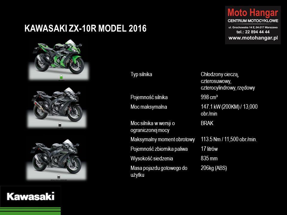 Typ silnikaChłodzony cieczą, czterosuwowy, czterocylindrowy, rzędowy Pojemność silnika998 cm³ Moc maksymalna147.1 kW (200KM) / 13,000 obr./min Moc silnika w wersji o ograniczonej mocy BRAK Maksymalny moment obrotowy113.5 Nm / 11,500 obr./min.
