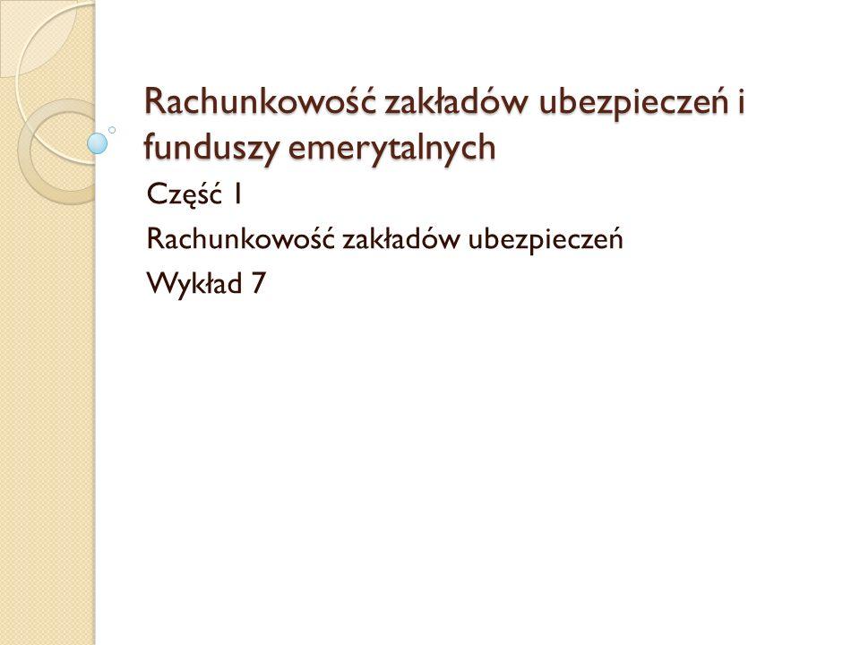 R.p. p. - struktura A. Przepływy środków pieniężnych z działalności operacyjnej I.