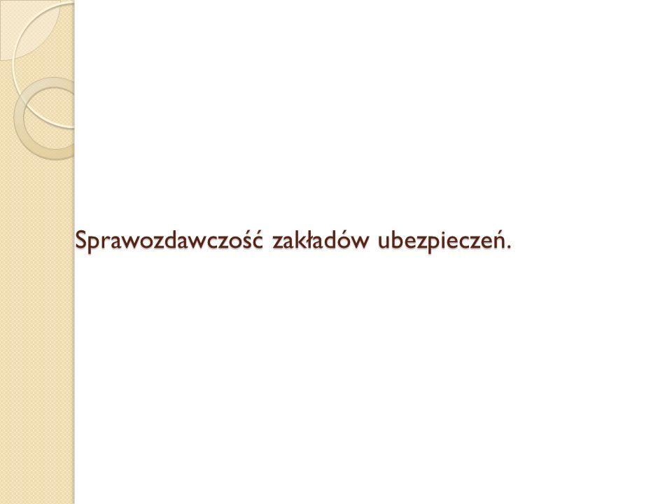 R.p. p. - struktura II. Wydatki 1. Wydatki z działalności bezpośredniej i reasekuracji czynnej 2.