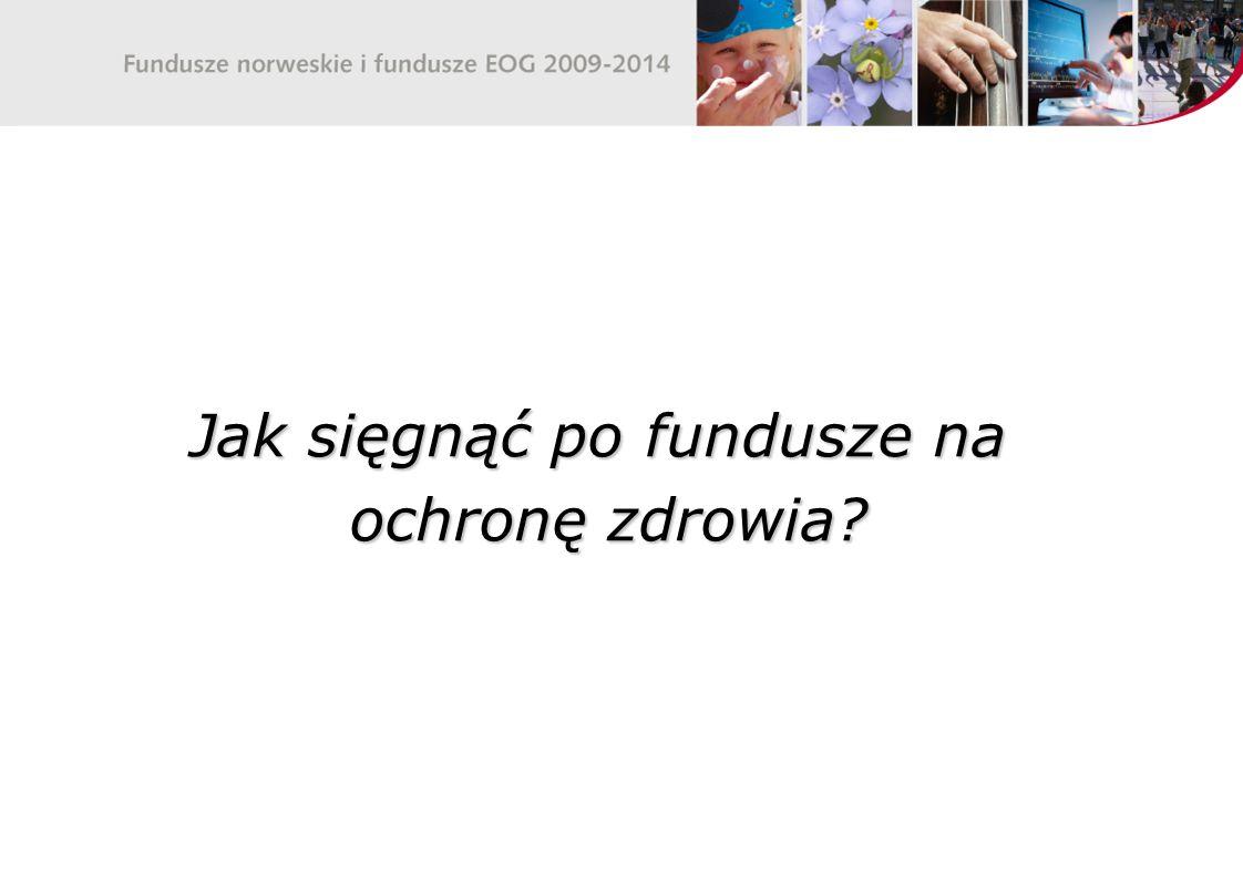 Nowa perspektywa MF EOG i NMF 2009-2014 dla ochrony zdrowia Małgorzata Stróżyk-Kaczyńska Zastępca Dyrektora Departamentu Funduszy Europejskich, Ministerstwo Zdrowia