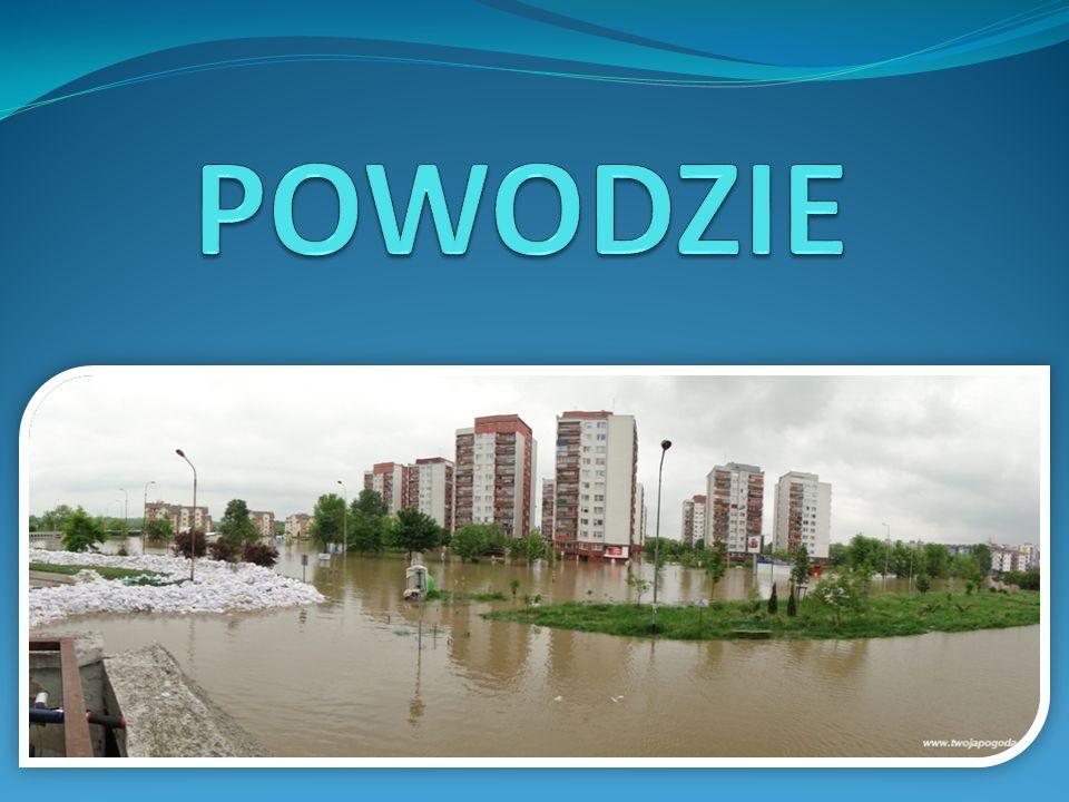 Powódź jest to przejściowe zjawisko hydrologiczne, podczas którego wody rzeczne lub morskie wzbierają w ciekach wodnych, zbiornikach lub na morzu.