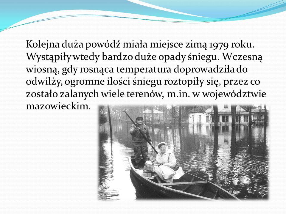 Skutki powodzi: W zależności od rozmiaru powodzi, straty mogą być bardzo różne.