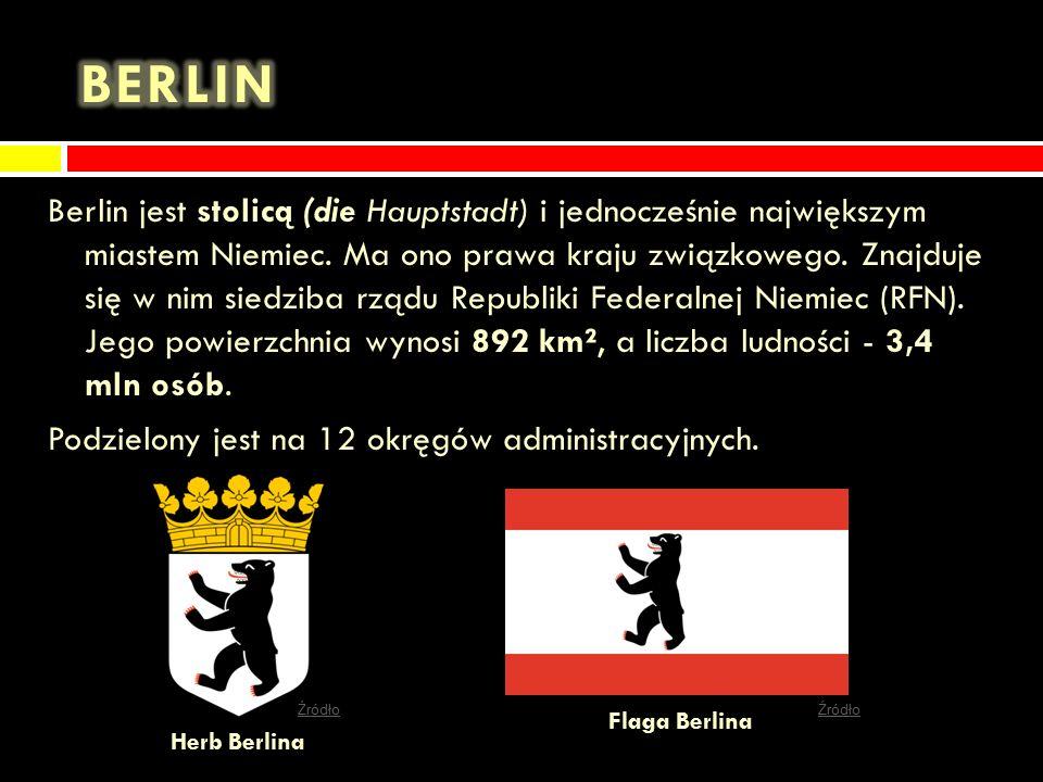 Ważniejsze miasta Berlin Berlin Hamburg Hamburg Monachium Monachium