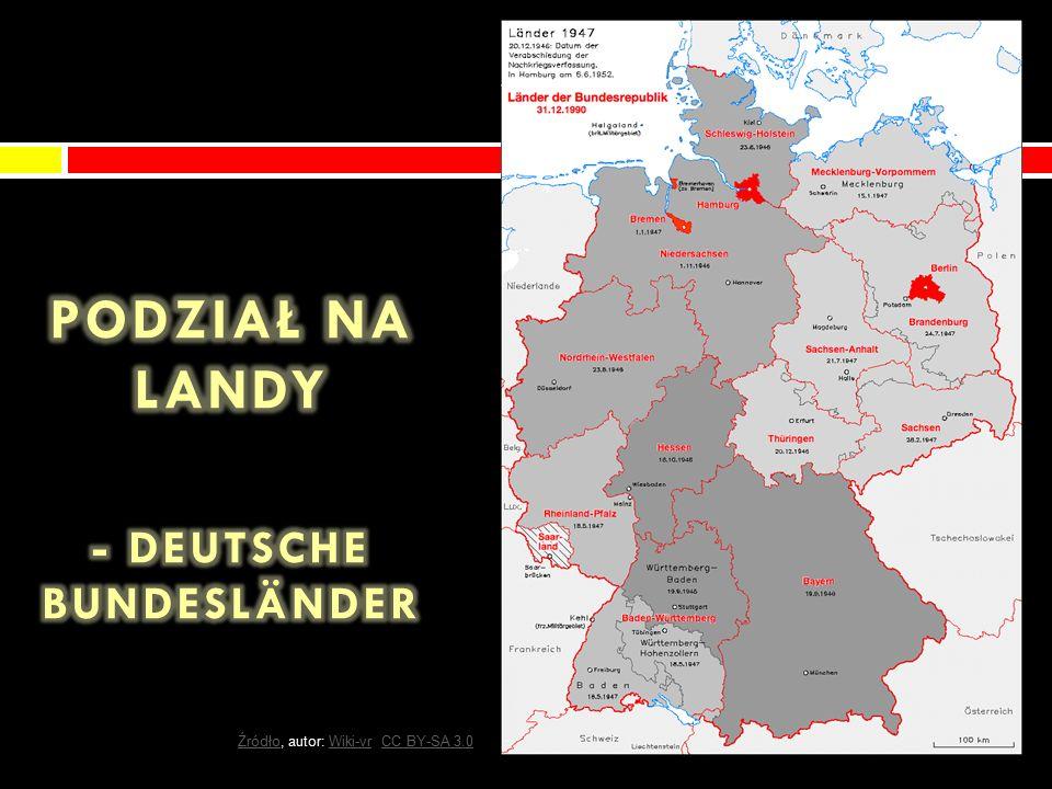 Powierzchnia (die Fläche): Powierzchnia (die Fläche): 357 021 km² Sąsiedzi (die Nachbarn): Sąsiedzi (die Nachbarn): -Polska -Dania -Czechy -Holandia -Austria -Francja -Szwajcaria -Luksemburg -Belgia ŹródłoŹródło, autor: David Liuzzo, CC BY-SA 4.0David LiuzzoCC BY-SA 4.0
