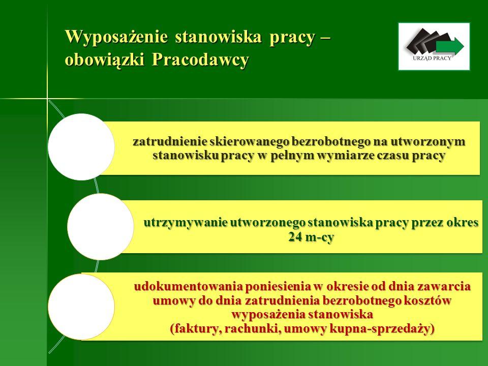 Wyposażenie stanowiska pracy Szczegółowe zasady oraz wnioski dostępne są na stronie internetowej Urzędu www.pup.srem.pl Informacje można uzyskać pod numerem telefonu 61 28 37 059 wew.