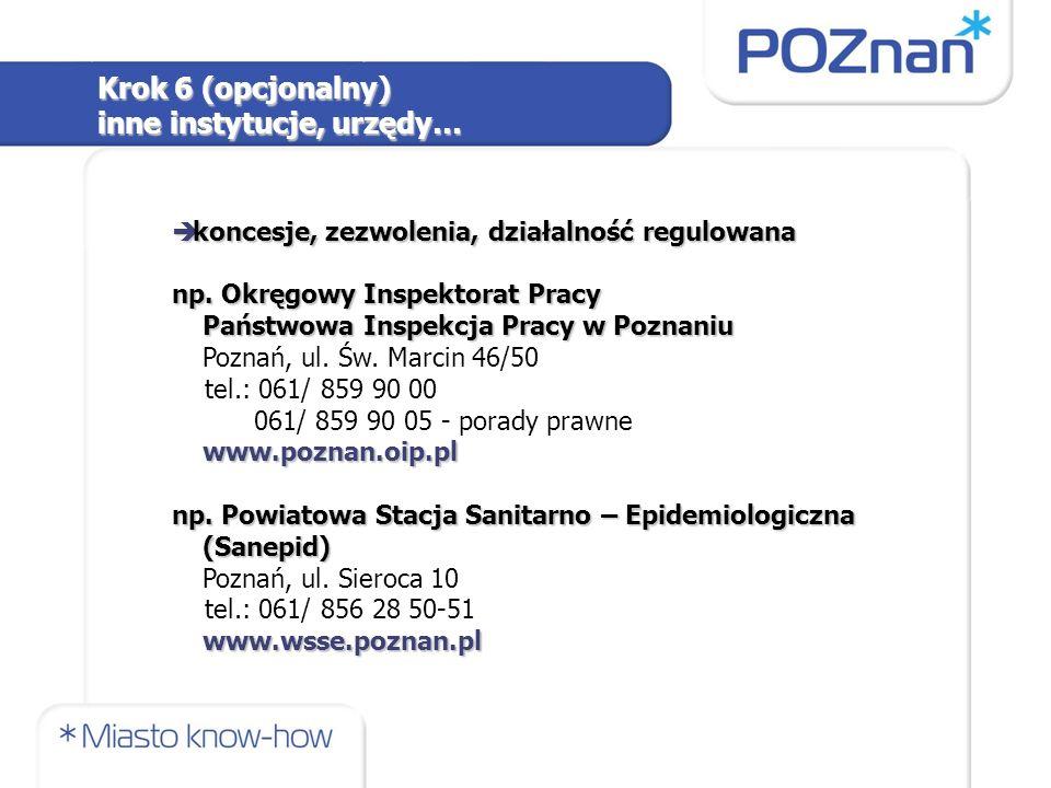 è koncesje, zezwolenia, działalność regulowana np. Okręgowy Inspektorat Pracy Państwowa Inspekcja Pracy w Poznaniu Państwowa Inspekcja Pracy w Poznani