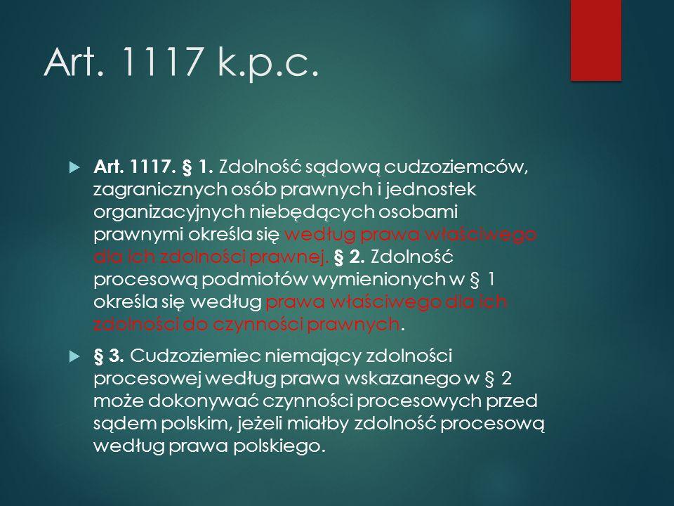 Art.1117 k.p.c.  Art. 1117. § 1.